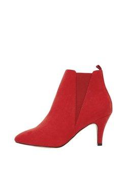 Bianco - Højhælede støvletter - red