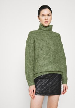 Monki - PARISA - Strickpullover - khaki green