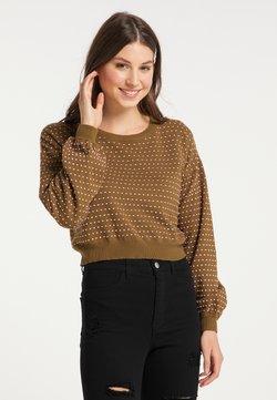 myMo - Sweatshirt - oliv