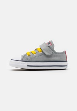 Converse - CHUCK TAYLOR ALL STAR  - Sneakers laag - ash stone/university red/speed yellow