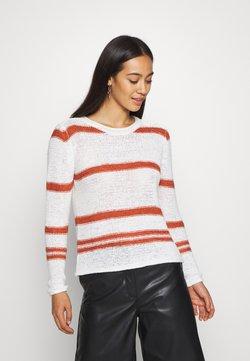 Hvite Blend Stripete gensere til dame og herre | Zalando.no