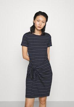 Club Monaco - TWANSIA DRESS - Jerseykleid - stripe