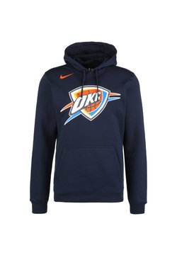 Nike Performance - NBA OKLAHOMA CITY THUNDER  - Hoodie - college navy
