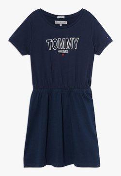 Tommy Hilfiger - TEE DRESS  - Jerseykleid - blue