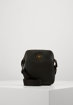 Guess - KING MINI DOCUMENT CASE - Sac bandoulière - black
