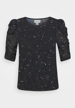 Lindex - PETAL - T-Shirt print - dark navy