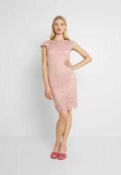 Vila - VIEDELLE CAPSLEEVE DRESS - Kotelomekko - misty rose