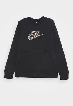 Nike Sportswear - CREW PACK - Sweatshirt - black/fossil stone