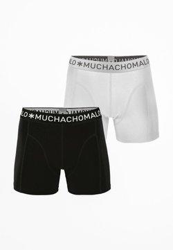 MUCHACHOMALO - 2ER PACK - Shorty - black / white