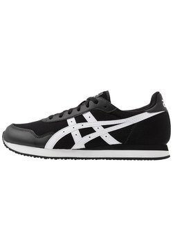 ASICS SportStyle - TIGER RUNNER UNISEX - Sneaker low - black/white