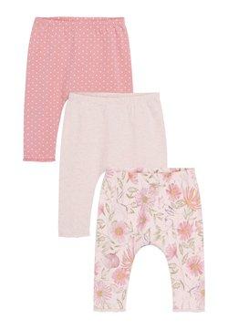 Next - 3 PACK LEGGINGS - Leggings - pink