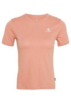 Converse - CONVERSE WOMENS SLIM TEE - Camiseta básica - rose gold