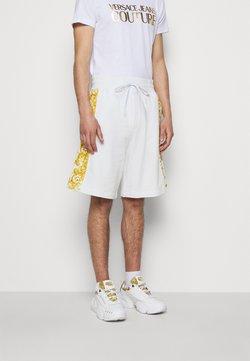 Versace Jeans Couture - PRINT LOGO BAROQUE - Jogginghose - white