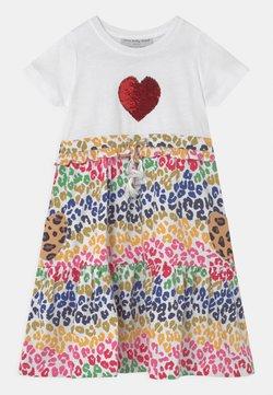 Never Fully Dressed Kids - RAINBOW LEOPARD MIDI DRESS - Jerseykleid - multi-coloured