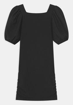 Patrizia Pepe - MANICHE BALOON - Jerseykleid - black