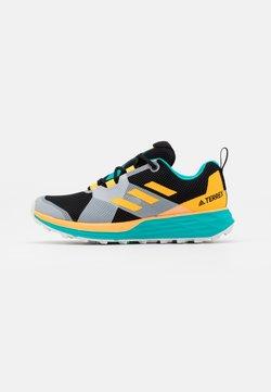 adidas Performance - TERREX TWO LIGHTSTRIKE RUNNING SHOES - Zapatillas de trail running - hi-res aqua/core black/solar gold