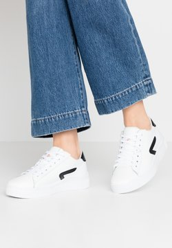 HUB - HOOK - Sneakers laag - white/black