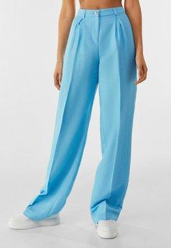 Bershka - Bukser - turquoise