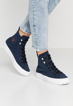 Converse - CHUCK TAYLOR ALL STAR HIKER FINAL FRONTIER - Sneakers hoog - obsidian/white/black