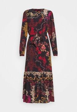 Ivko - DRESS FLORAL PRINT - Maxi dress - red/black