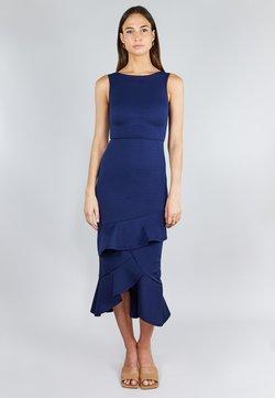 True Violet - FRILL LAYER  - Cocktailkleid/festliches Kleid - dark blue