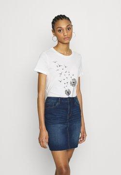 Vero Moda - VMALMA DANDELOIN FRANCIS - T-shirt con stampa - snow white