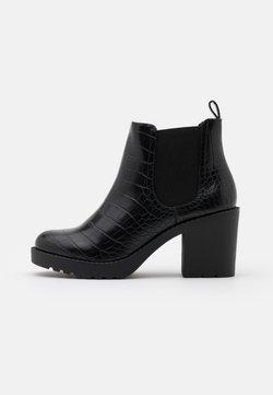 Monki - VEGAN MINO - Korte laarzen - black