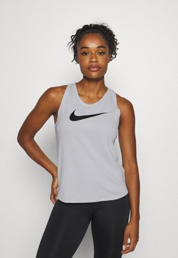 Nike Performance - RUN TANK - Camiseta de deporte - grey fog/black