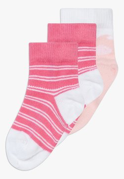 Tommy Hilfiger - BABY 3 PACK - Calcetines - light pink/white
