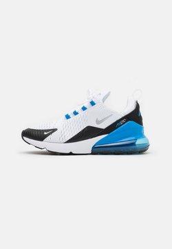 Nike Sportswear - AIR MAX 270 HU UNISEX - Sneakers - white/metallic silver/light photo blue/black