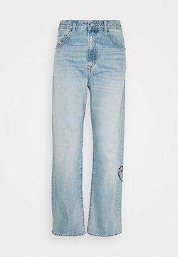 Diesel - D-REGGY - Jeans Relaxed Fit - light blue