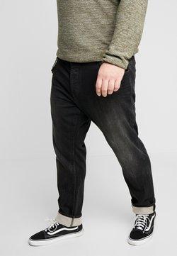 TOM TAILOR MEN PLUS - Slim fit jeans - black stone wash denim