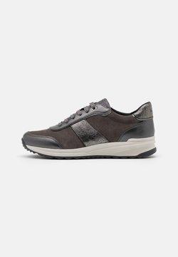 Geox - AIRELL - Sneakers laag - dark grey