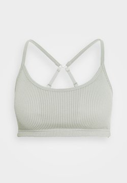 Cotton On Body - WORKOUT YOGA CROP - Sport BH - washed aloe