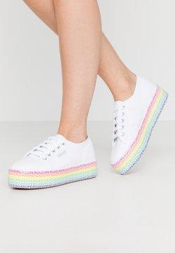 Superga - 2790 MINILETTERING - Sneakers basse - white/multicolor