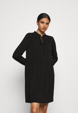 Vero Moda - VMSAGA SHORT DRESS - Freizeitkleid - black