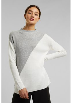 Esprit Collection - Strickpullover - light grey