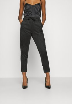 ONLY - ONLPOPTRASH EASY PANT - Stoffhose - black