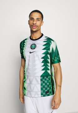Nike Performance - NFF NIGERIA NIGERIA HOME - Landsholdstrøjer - white/black