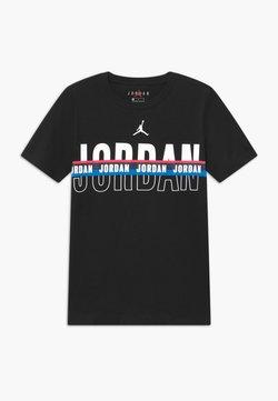 Jordan - SPLIT DECISION - T-shirt imprimé - black