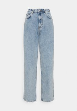 Gina Tricot - 90S OVERSIZE - Relaxed fit -farkut - light blue