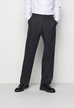 PS Paul Smith - MENS TROUSER WIDE LEG - Pantaloni eleganti - black