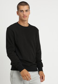 Jack & Jones - JJEHOLMEN CREW NECK - Sweatshirt - black