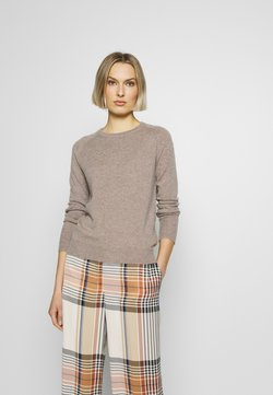 pure cashmere - CLASSIC CREW NECK  - Sweter - beige