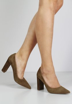 Evita - NATALIA - High Heel Pumps - cognac