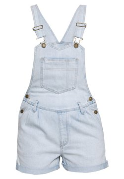 American Eagle - PLEATED MOM SHORTALL - Salopette - blue daylight