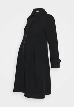 JoJo Maman Bébé - TAILORED COAT - Kappa / rock - black