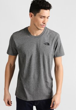 The North Face - REDBOX TEE - T-Shirt print - mottled grey