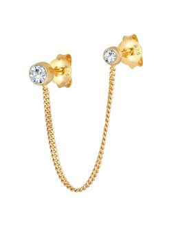 Elli - GLASS CRYSTAL - Pendientes - gold
