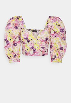 Gina Tricot - MADELEINE BLOUSE - T-Shirt print - pink